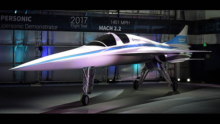 Boom Supersonic, Stratasys partner for supersonic aircraft with 3D printing