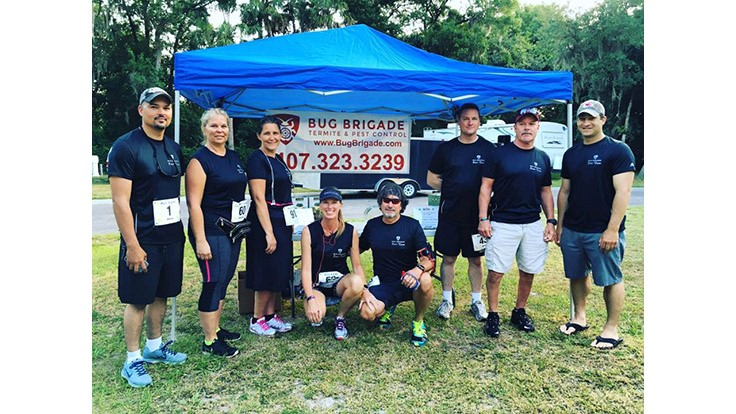 Company Sponsors and Participates in Run 4 Life Race