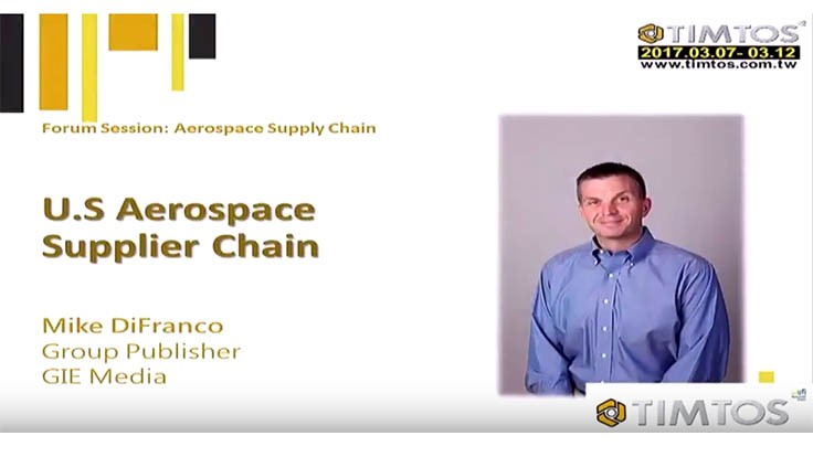 The US Aerospace supply chain – TIMTOS 2017