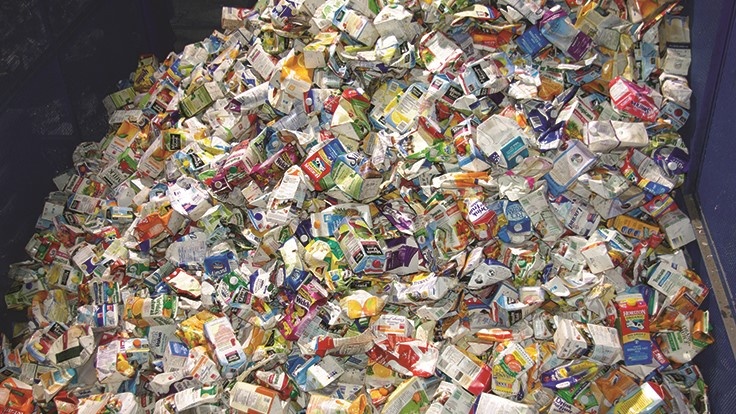 Carton recycling rate increases in Canada