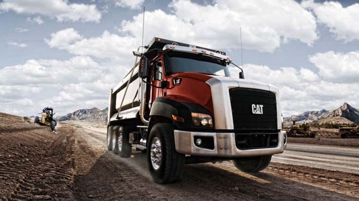 Caterpillar ends plans for vocational trucks