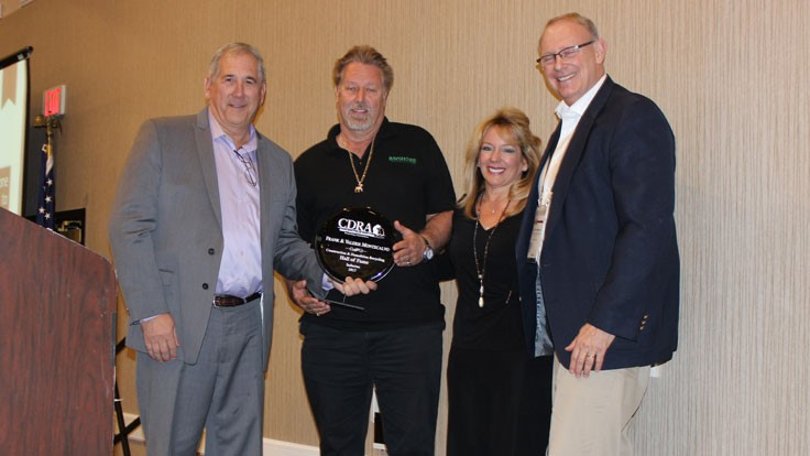 CDRA honors awards recipients during C&D World
