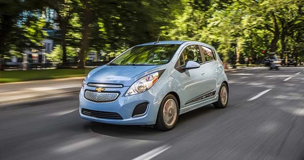 GM drops price on Chevy Spark EV electric vehicle
