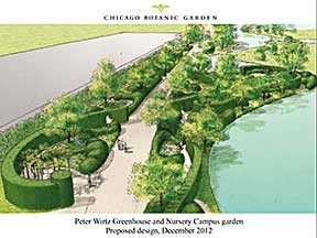 Chicago Botanic Garden selects landscape architects