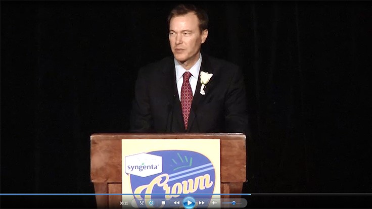 Video: Chris McCloud Recognized with 2015 Crown Leadership Award