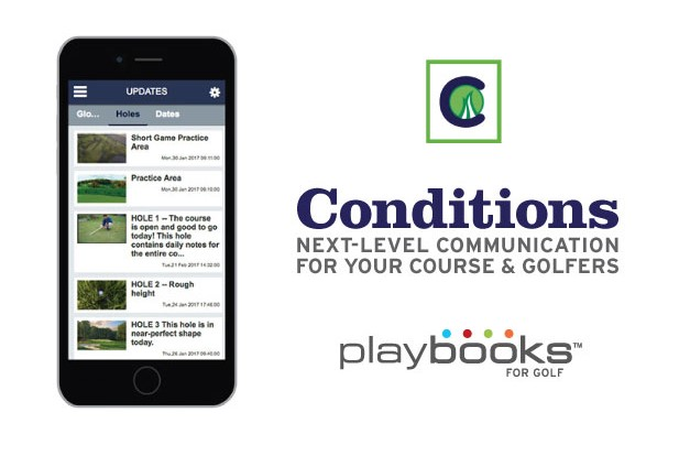 "Playbooks for Golf releases ""Conditions"""