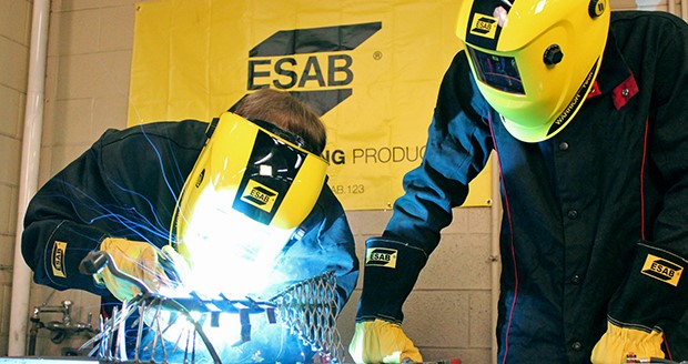 ESAB's 2015 student cutting, welding, and essay contest