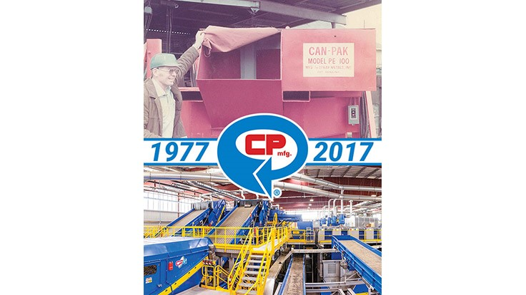 CP Manufacturing celebrates 40 years in the recycling industry