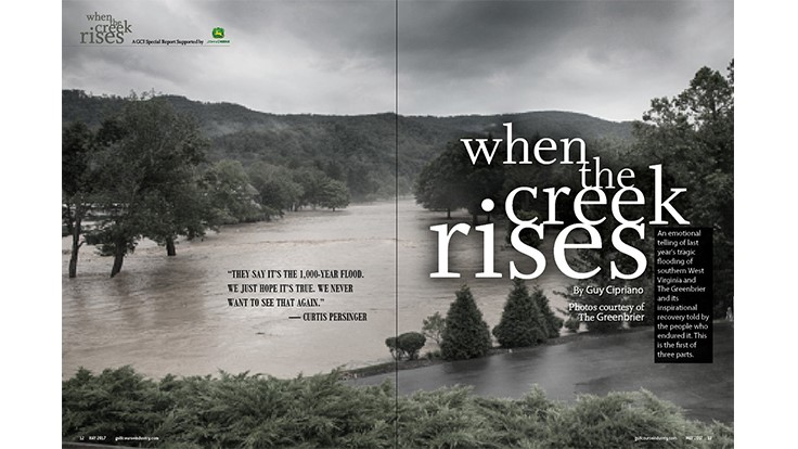 When the creek rises