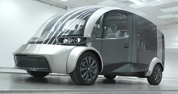 Liberty Electric Car produces delivery van concept