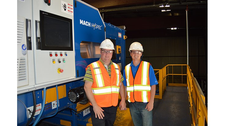 Optical sorting helps Ontario county surpass recycling goals