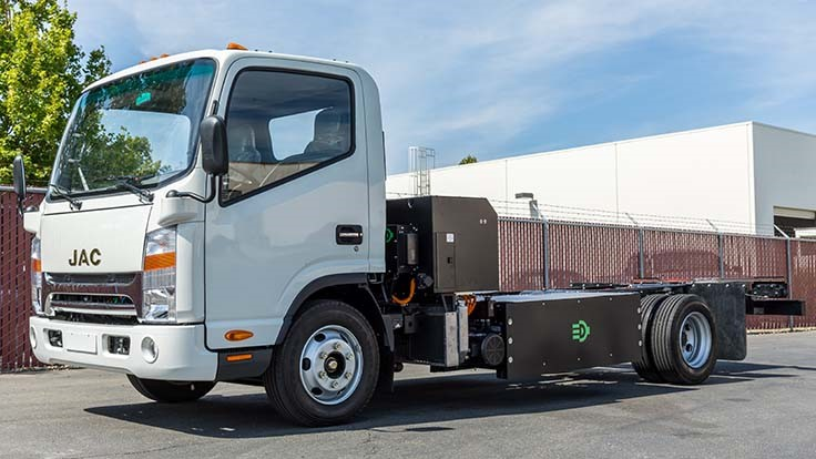 Efficient Drivetrains supports plug-in hybrid, CNG truck