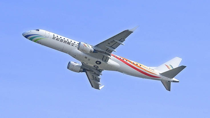 Colorful Guizhou Airlines Signs Ge Mro Agreement Aerospace