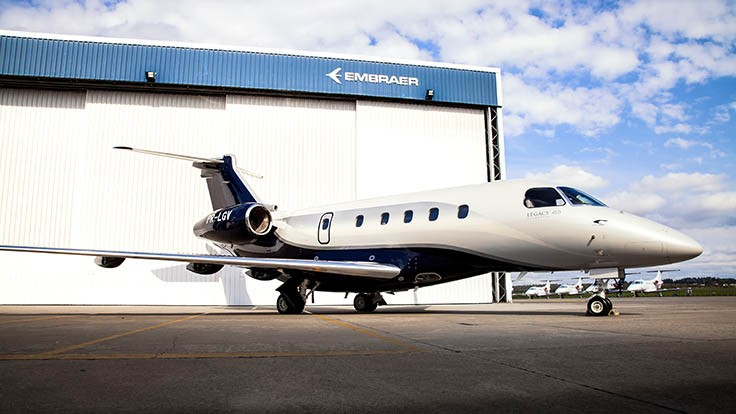 Embraer Legacy 450 sets speed records between California, Hawaii