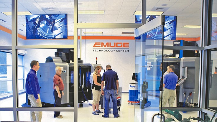 Emuge holding joint open house