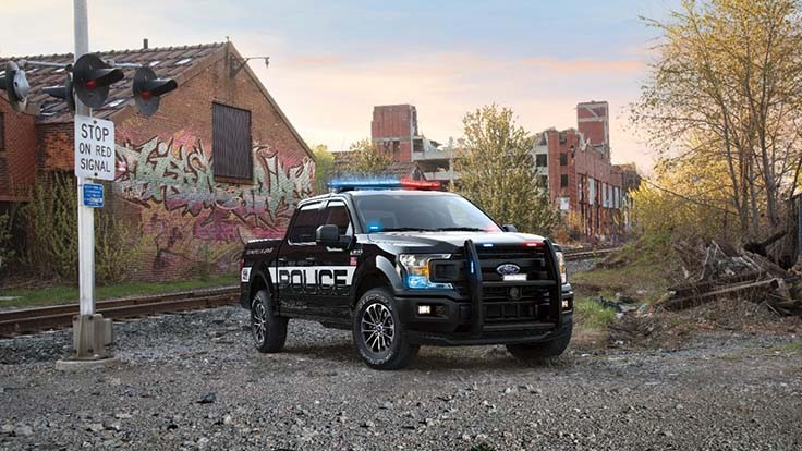 Ford offers 2018 F-150 Police Responder cop truck