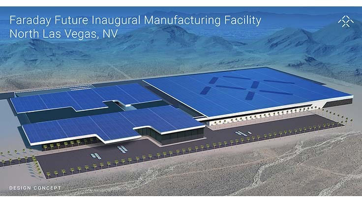 Faraday Future picks Los Vegas area for electric car plant