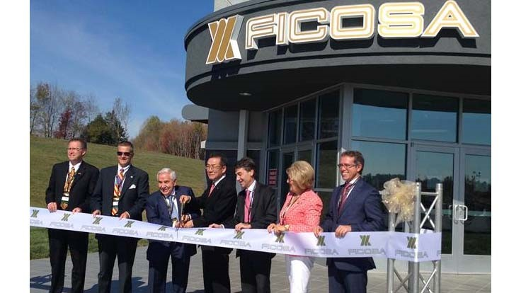 Ficosa opens plant in Tennessee
