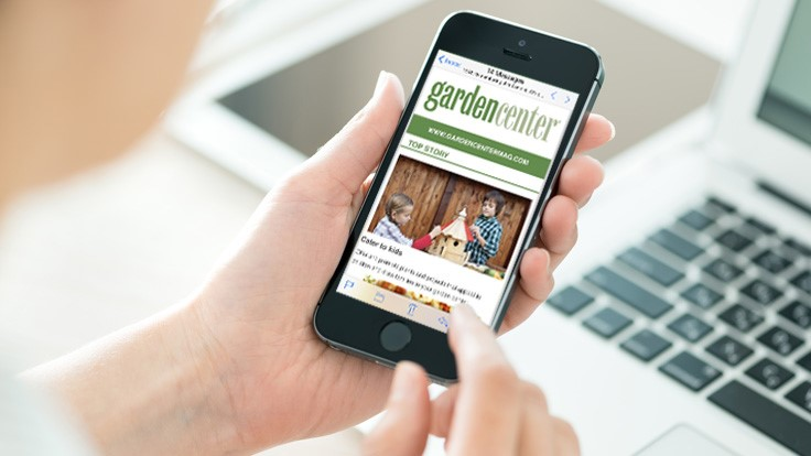 Introducing our new Garden Center magazine newsletter