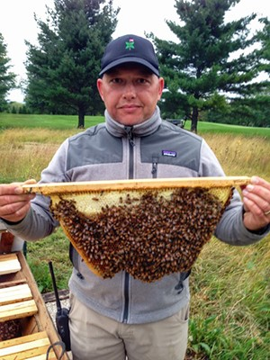 The buzz about on-course beekeeping