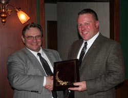 Cleveland Association Recognizes OPARR with Tom Evans Award