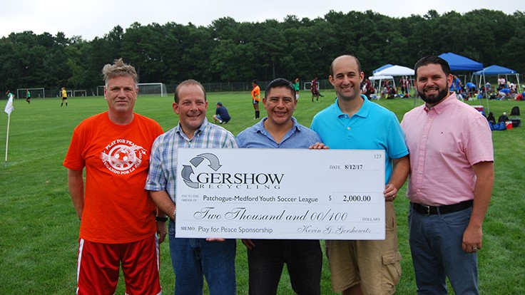 Gershow Recycling makes charity donation