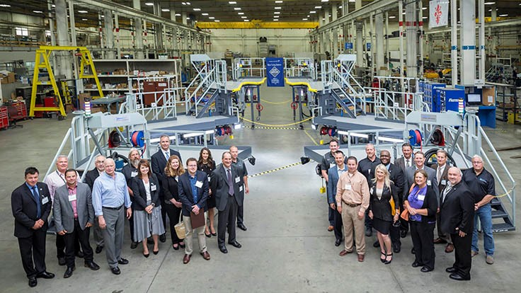 Lockheed Martin presents Elite Supplier Award to Global Tooling Systems