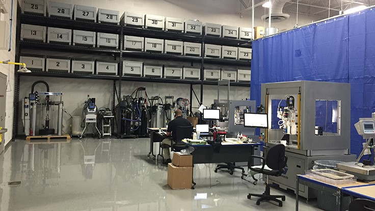 Graco AFD's applications laboratory