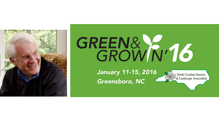 Bob Dolibois named keynote speaker for Green & Growin' 2016