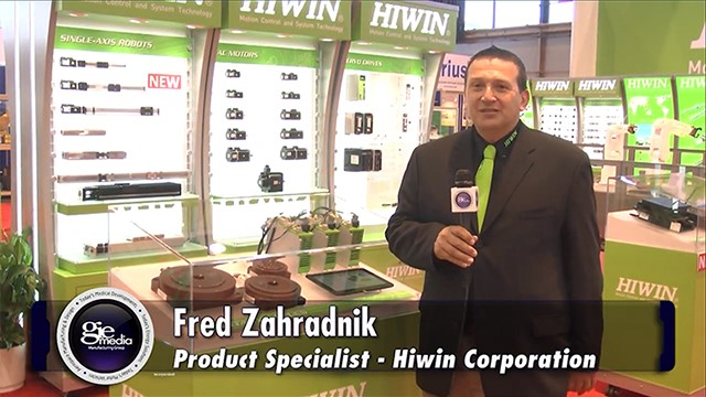 IMTS Booth Tour 2016: Hiwin Corp. [VIDEO]
