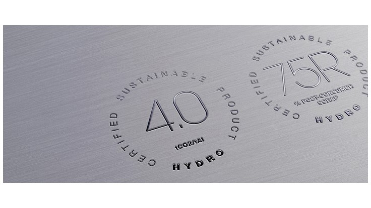 Hydro offers low-carbon aluminum product based on scrap