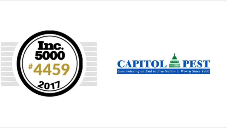 Capitol Pest Makes Inc. 5000 List