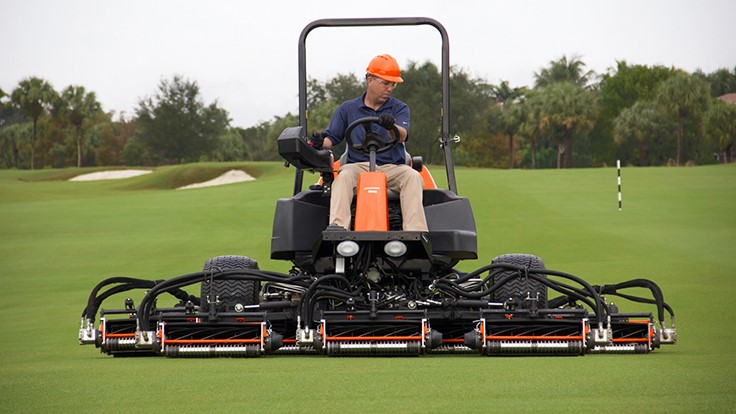 Jacobsen expands and enhances LF line of mowers