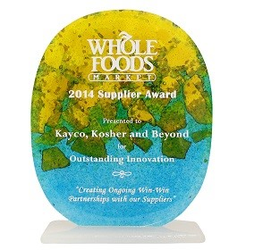 Whole Foods Names Kedem for Outstanding Innovation