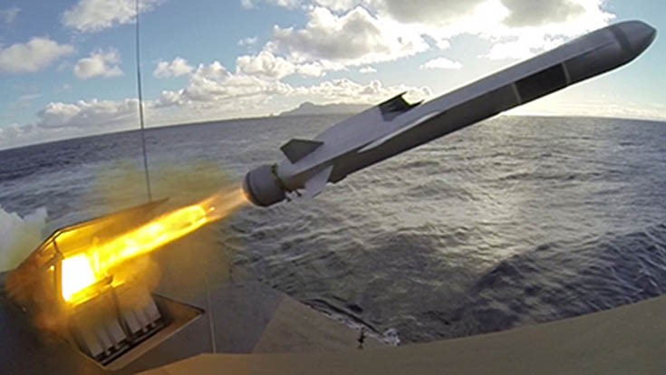 Raytheon to build Naval Strike Missile launchers in the US
