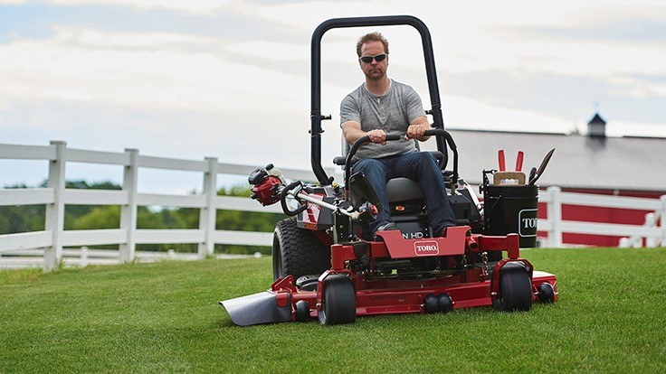 Toro introduces full mower lineup