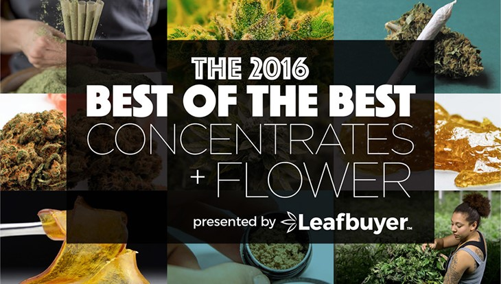 Leafbuyer Survey Names 2016 Best Concentrates and Flowers in Colo.