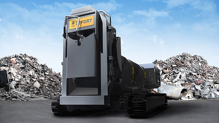 Lefort introduces track-mounted shear/baler/loggers