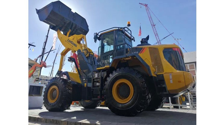 LiuGong vertical lift loader designed to improve lifting and carrying of loads