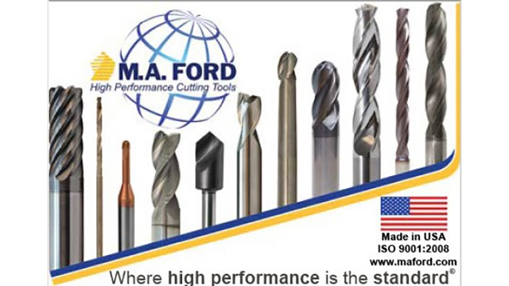 M.A. Ford available on MachiningCloud