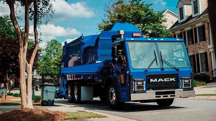 Mack designs new collection truck with the driver in mind