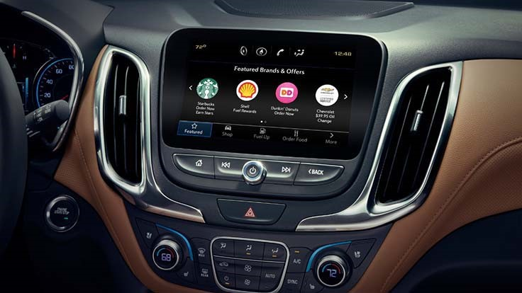 GM launches in-dash ordering infotainment system: order Starbucks while driving