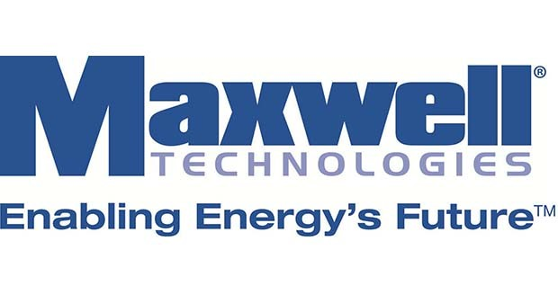 Maxwell Technologies wins grant for ultracapacitor/battery energy storage