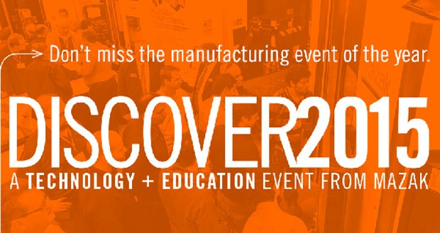 Mazak DISCOVER15 events set for October, November - Today's Motor