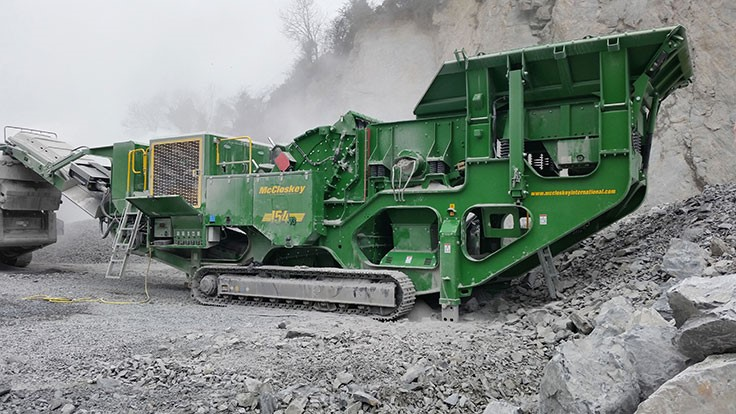 McCloskey upgrades mobile impact crusher