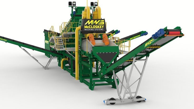 McCloskey to introduce washing system at ConExpo-Con/Agg