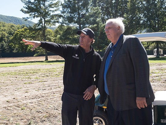 Phil Mickelson Design begins work at The Greenbrier