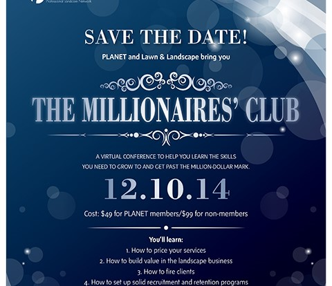 Come join The Millionaires' Club