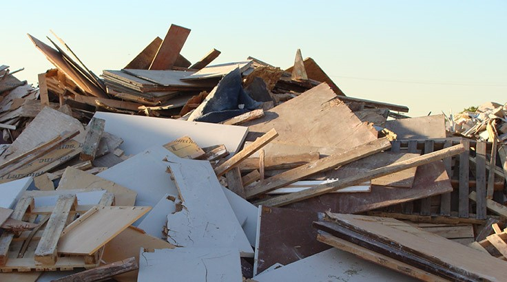 Minnesota street department recycles metals and wood during demolition project