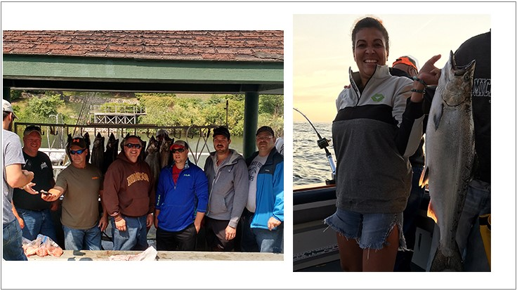 MPMA Fishing Outing Raises $1,800 for Scholarship Funds